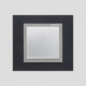 simon-82-nature_linia-metal_Inoxczarny-Aluminium